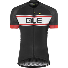 Alé Cycling Solid Vetta Short Sleeve Jersey Men black-red